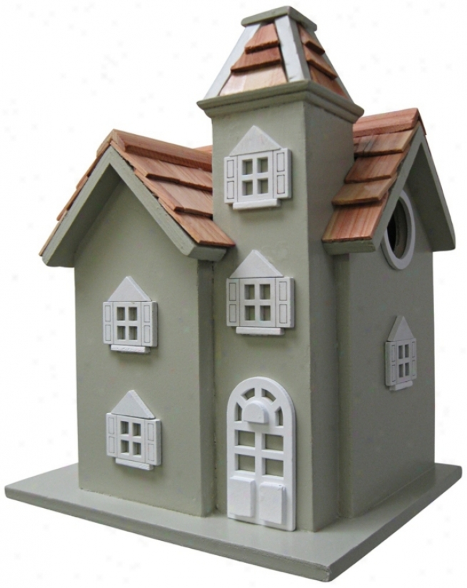 Liftle Manor Green Birdhouse (t3219)