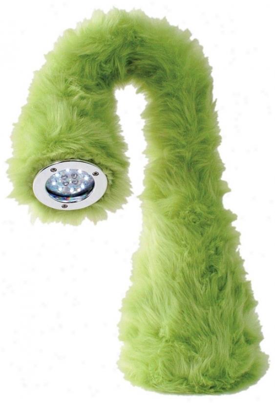 Little Monster Green Bendable Led Desk Lamp (j4194)