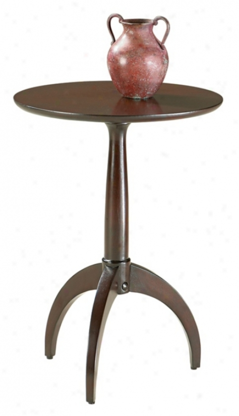 Loft Collection Merlot Perfect Round Pedestal Table (m3990)