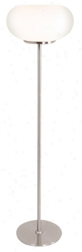 Lolljpop White Glaws Floor Lamp (m1754)