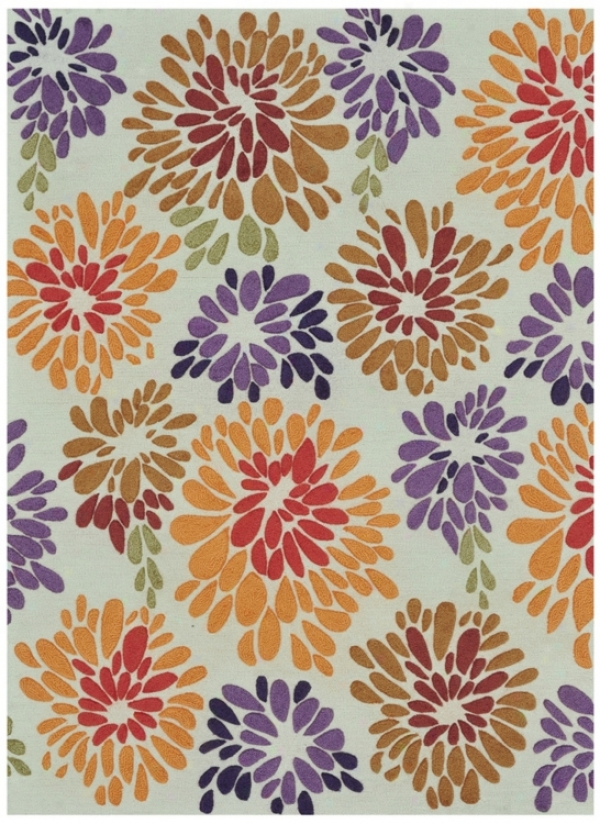 Loloi Aurora Aa-02 Multi-floral 7&#039;9&quot;x9&#039;9&quot; Rug (v8926)