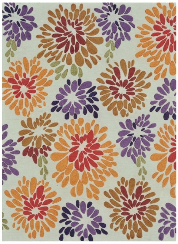 "Loloi Aurora Aa-02 Multi-floral 7'9""x9'9"" Rug (v8926)"