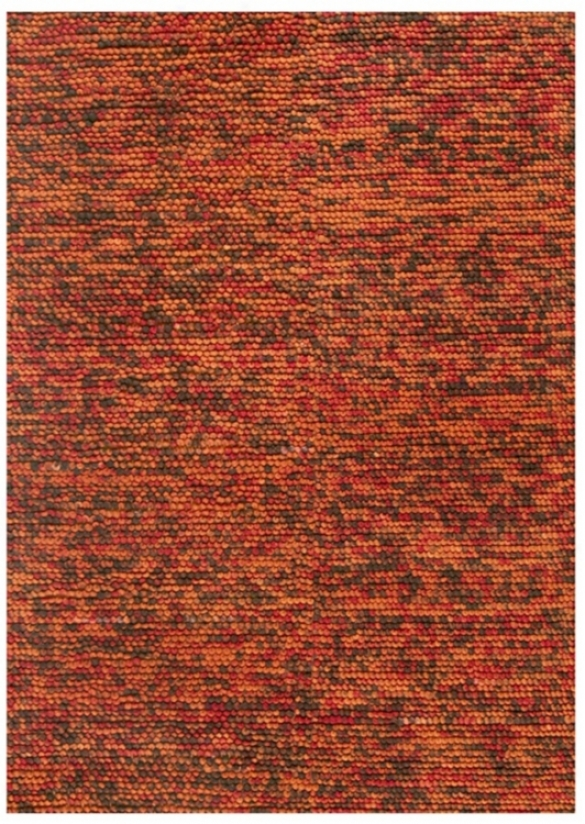 "Loloi Clyde Cl-01 Rust-brown 5'x7'6"" Area Rug (v9000)"