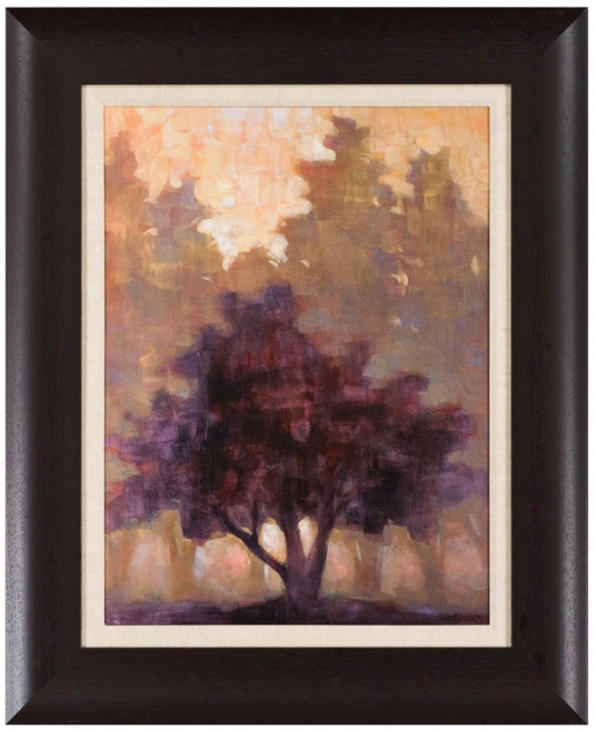 "Lone Tree 32"" High Wall Art (j5935)"