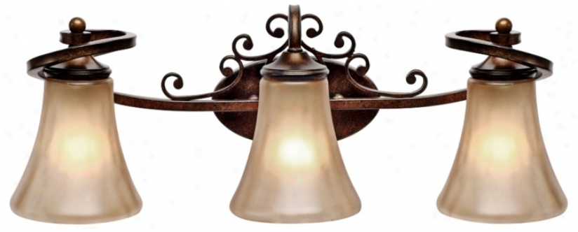 "Loretto Collection 24 1/2"" Wide Bathroom Wall Light (r3363)"