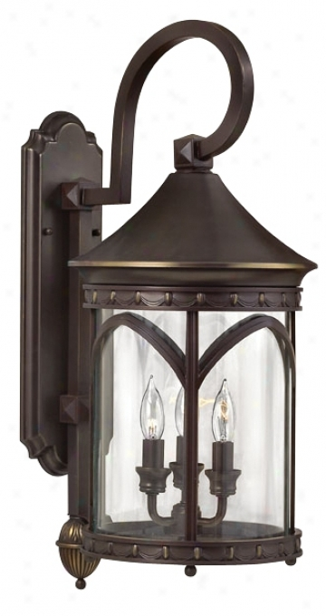 """Lucerne Collection 25"""" Abstruse Outdoor Wall Light (51382)"""