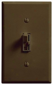 Lutron Ariadni 600w 3-way Brown Dimmer (70697)