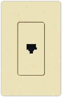 Lutron Claro Phone Jack (71101)