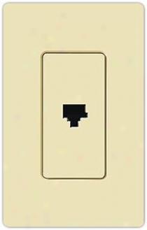Lutron Claro Phone Jack (71101)