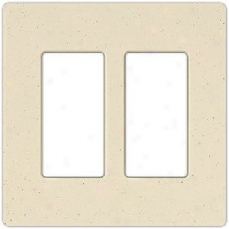 Lutron Diva Double Gang Wallplate (31198)