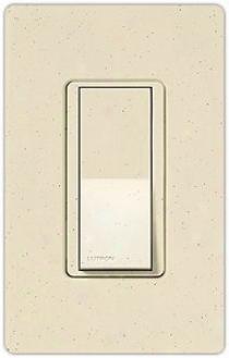 Lutron Diva Limestone Finish Sc Single Pole Wall Switch (31086)