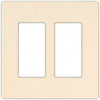 Lutron Diva Sc Increase twofold Gang Wallplate (31083)
