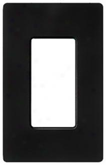 Lutron Diva Sc Single Gang Wallplate Switchplate (28610)