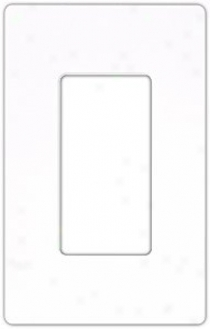 Lutron Diva Sc Single Gang Wallplate Switchplate (30501)