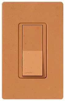 Lutron Diva Terracotta Finish Sc Single Pole Wall Switch (72373)
