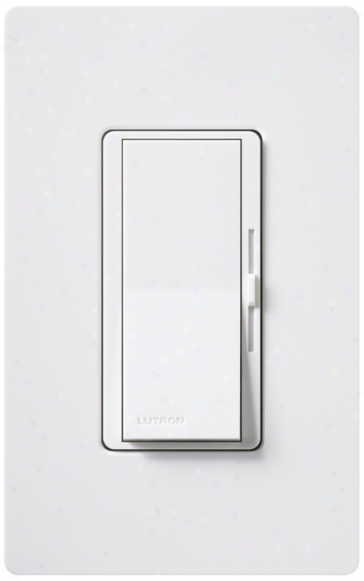 Lutron Diva/cl White Cfl/led Dimmer (r4081)