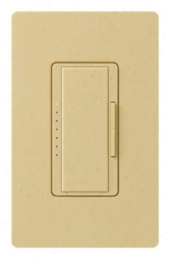 Lutron Maestro 600 Watt Goldstone Preset Single Pole Dimmer (15131)