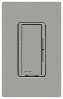 Lutron Maestro 600w Preset Single Pole Gray Dimmrr (45083)