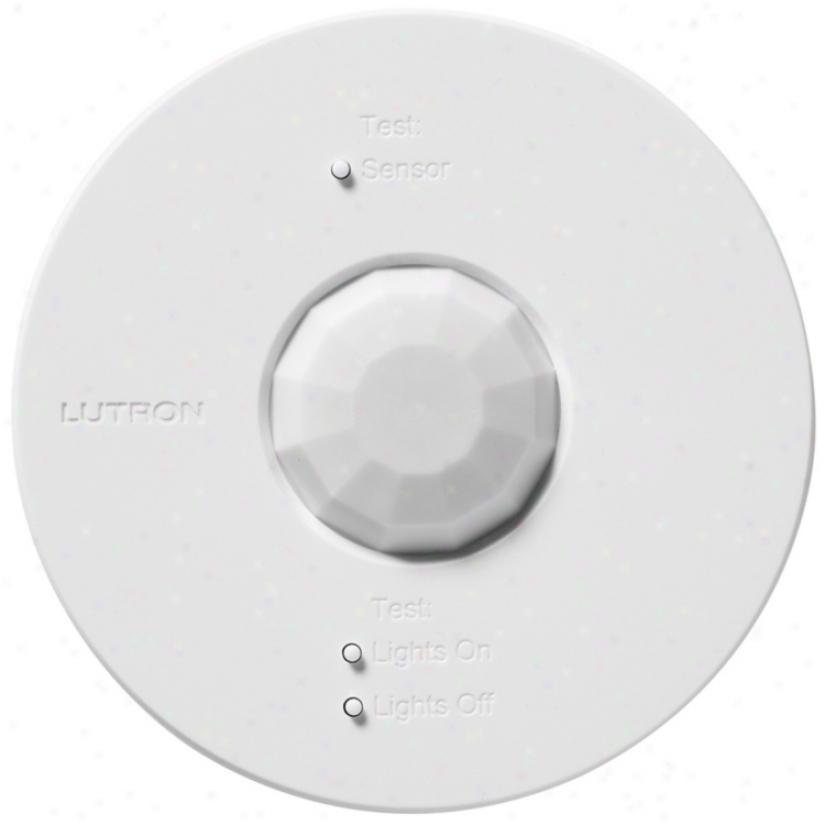 Lutron Powr Savr Wireless Occupancy And Vacancy Sensor (p1528)