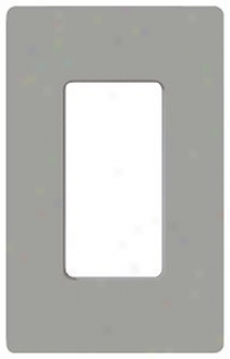 Lutron Single Gang Grey Wallplate (84363)