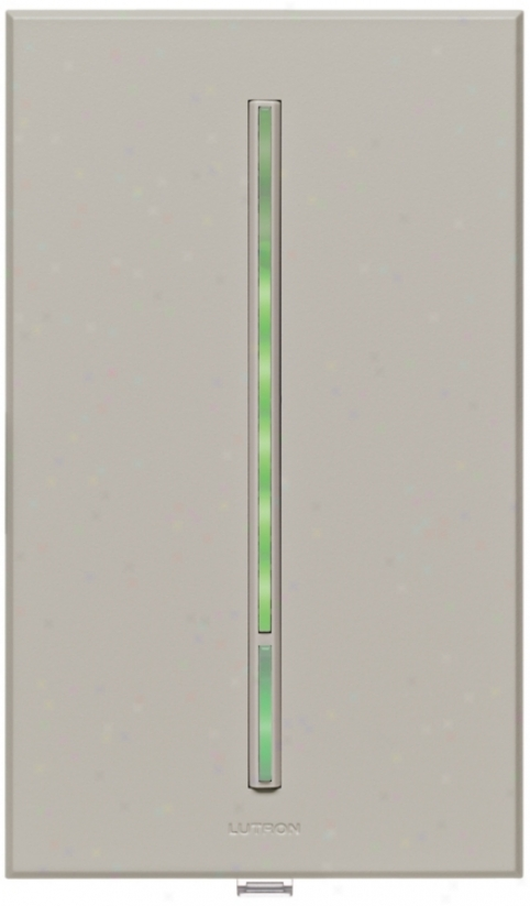 Lutron Vierti Green Led Multilocation Gray Companion Control (71236)