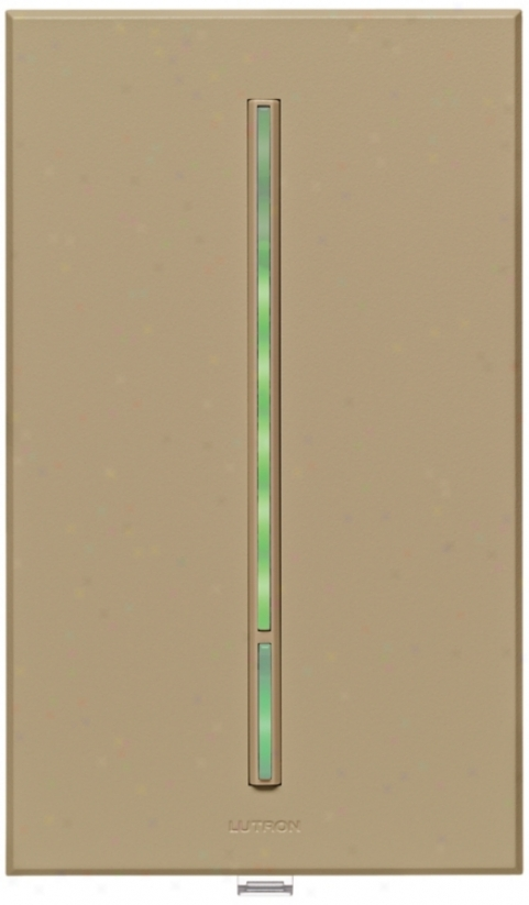 Lutron Vierti Green Led Tauppe Companion Control (71250)