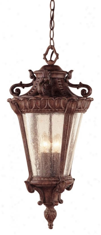 "Luzern Collection 18 1/4"" High Outdoor Hanging Light (66882)"