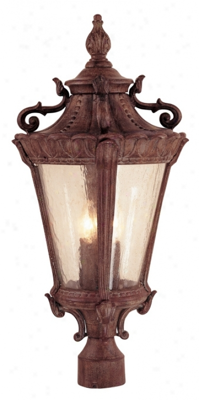"Luzern Colleftion 25 1/2"" High Outdoor Post Light (67076)"