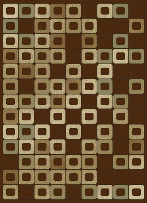 Machine Language Chocolate Rug (j9712)