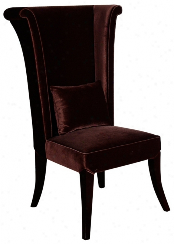 Mad Hatter Brown Soft Dining Chairr (p6071)