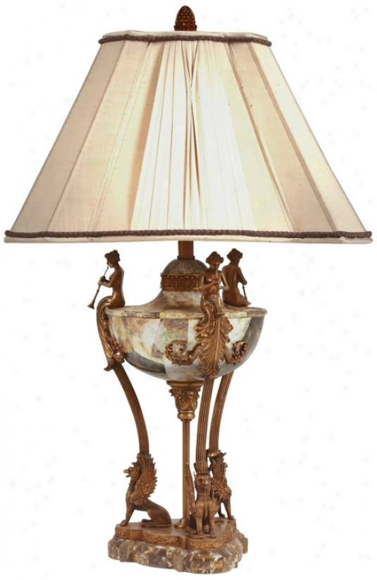 Maitland-smith Neoclassic Urn Table Lamp (j6429)