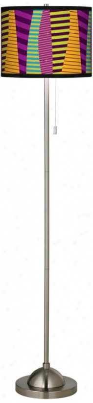 Mambo Giclee Shade Floor Lamp (99185-n9631)