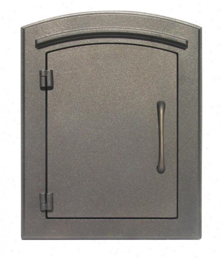Manchester Plain Bronze Colun Insert Mailbox (25844)