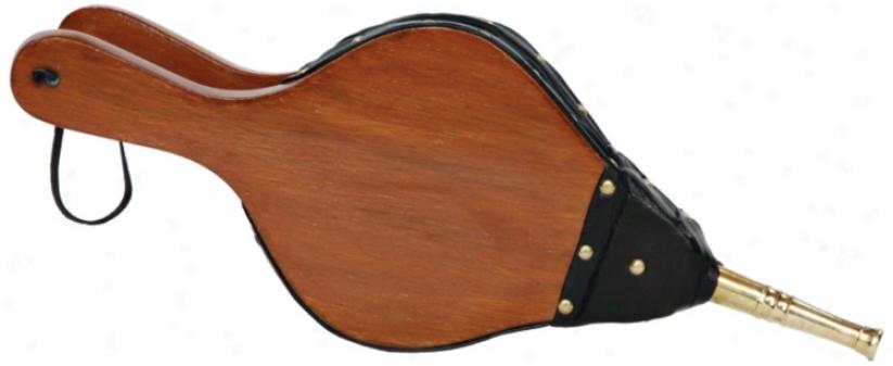 "Maple Wood 15"" Wide Fireplace Bellows (u9104)"