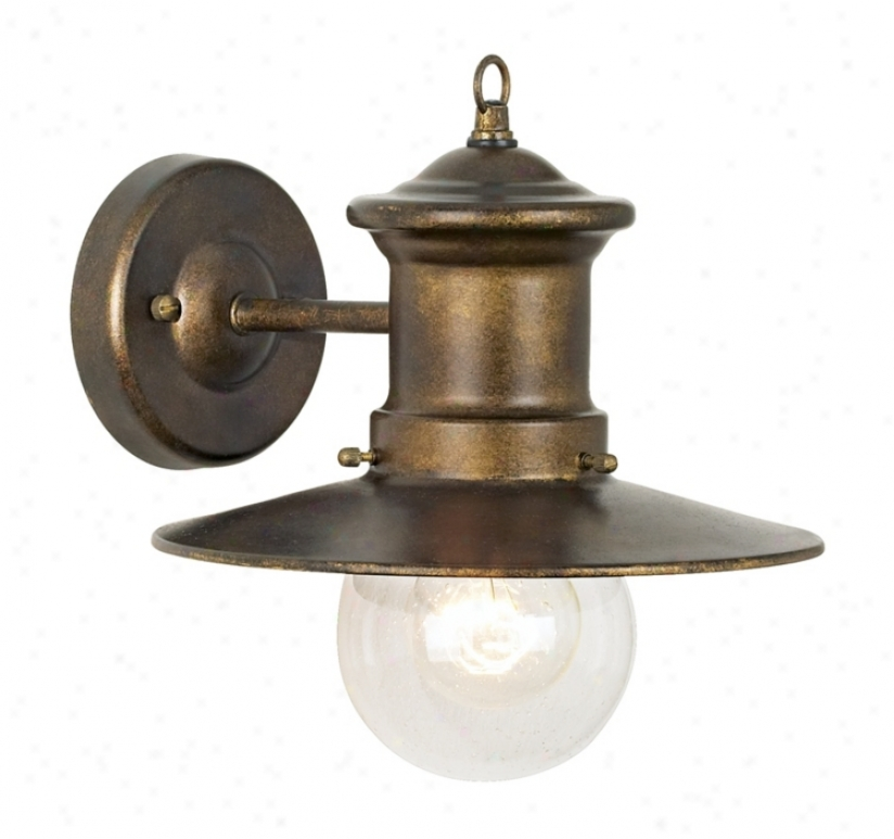 "Marine Collection 10"" High Outdoor Wall Light (03011)"