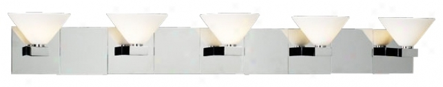 "Matria Collection 38 1/4"" Wide Bathroom Light Fixture (h3932)"
