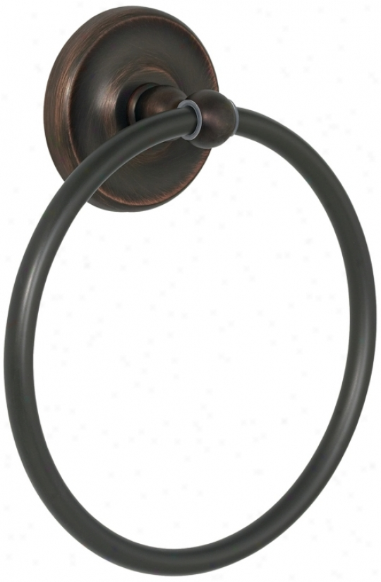 Maxwell Collection Oil-rubbed Bronze Towel Ring (86382)
