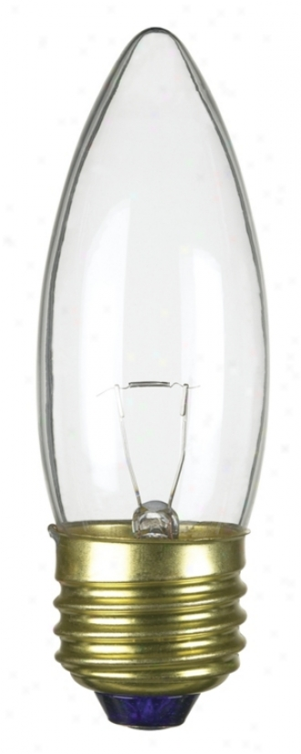 Medium Base 40-watt Clear Torpedo Light Bulb (67418)