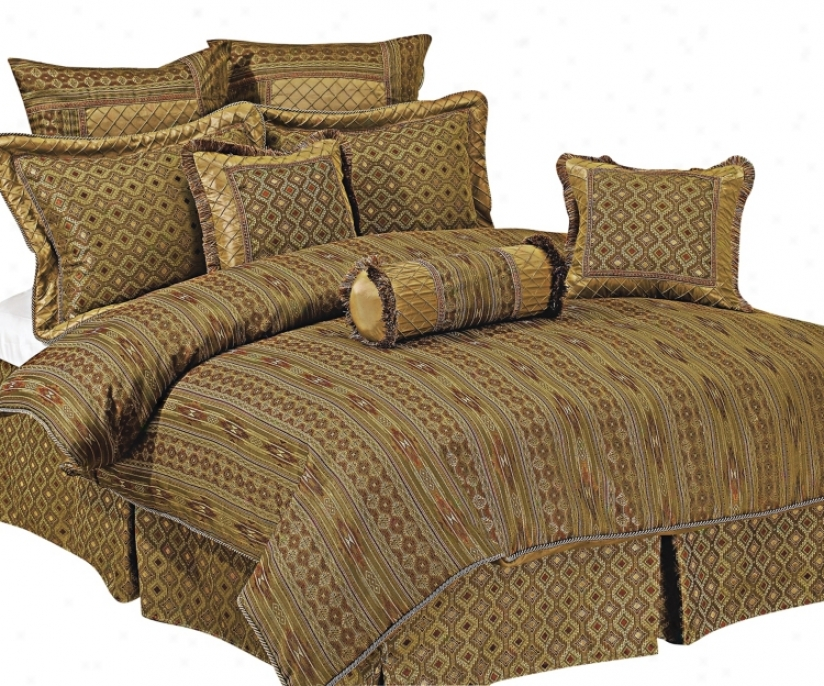 Mesa Nine Piece  Bedding Set (72395)