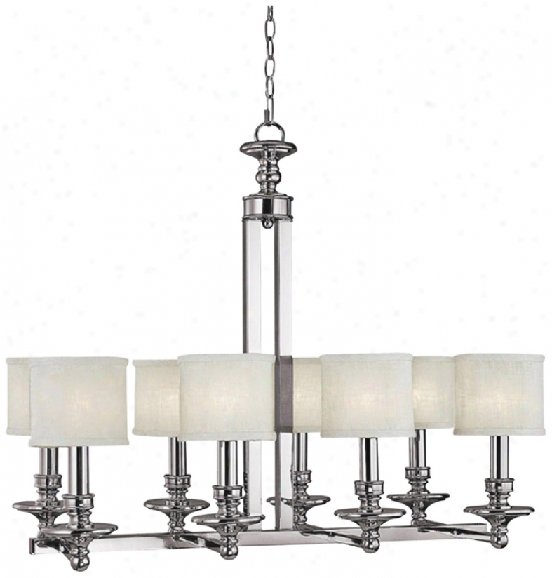 "Midtown Collection  8-light 33 1/4"" Wide Chandelier (r7655"