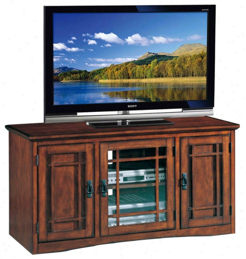 "Mission Oak 50"" Wide Television Console (m9373)"
