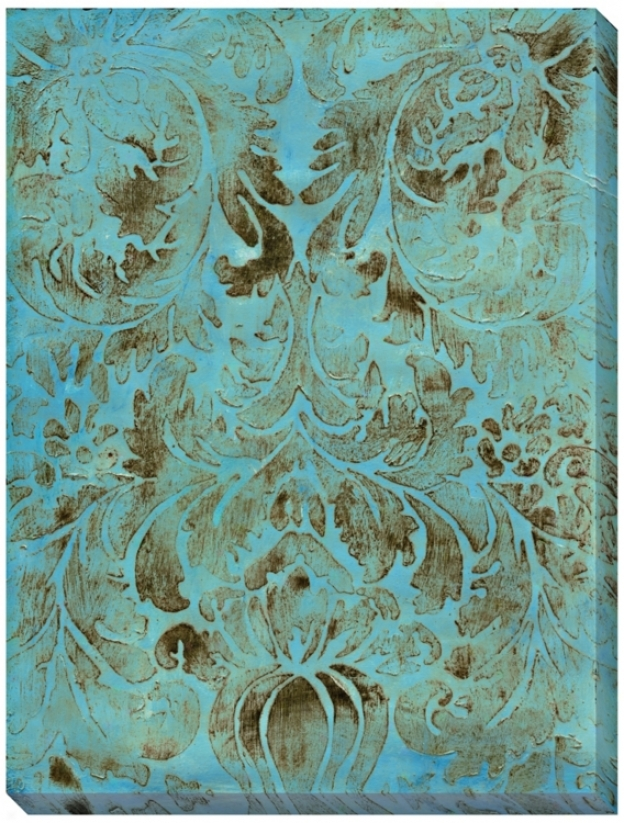 """Modal Vii Giclee Impression Indoor/outdoor 48"""" High Wall (l0866)"""