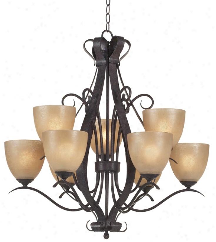 Modella Collection Nine Light Chandelier (19308)