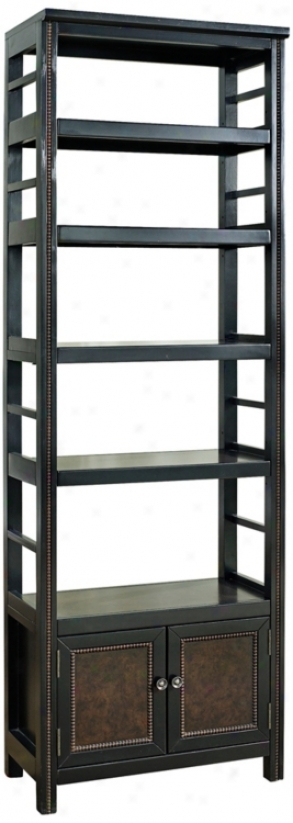 Modern Coddington Nailhesd Bookcase (w2667)