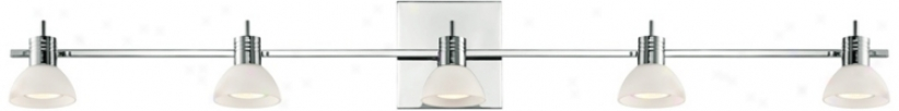 "Modo Collection Chrome 43 1/2"" Wide Bathroom Light (u1338)"