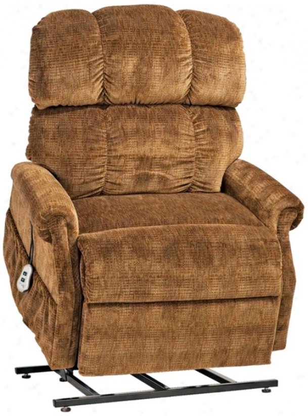 Montage Collection Saddle X-lare Recline And Lift Chair (n4592)