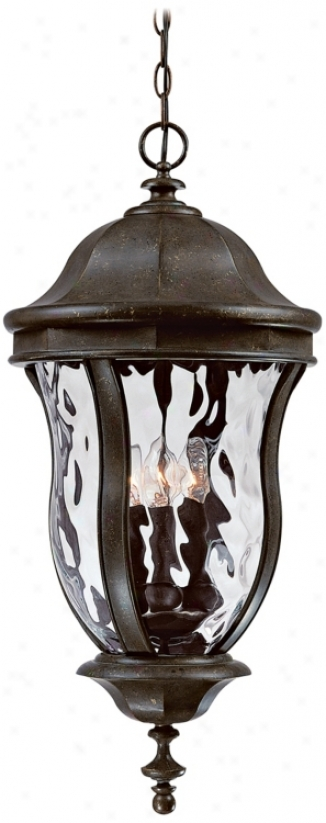 "Monticello Collection 24"" High Outdoor Hanging Light (j7018)"