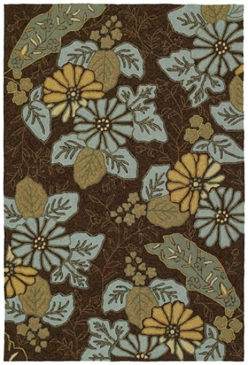 "Morning Honor Robins Egg 7' 6""x9' Area Rug (m7069)"