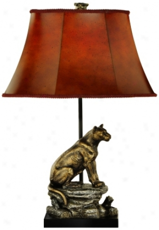 Mountain Object of interest Table Lamp (j2255)
