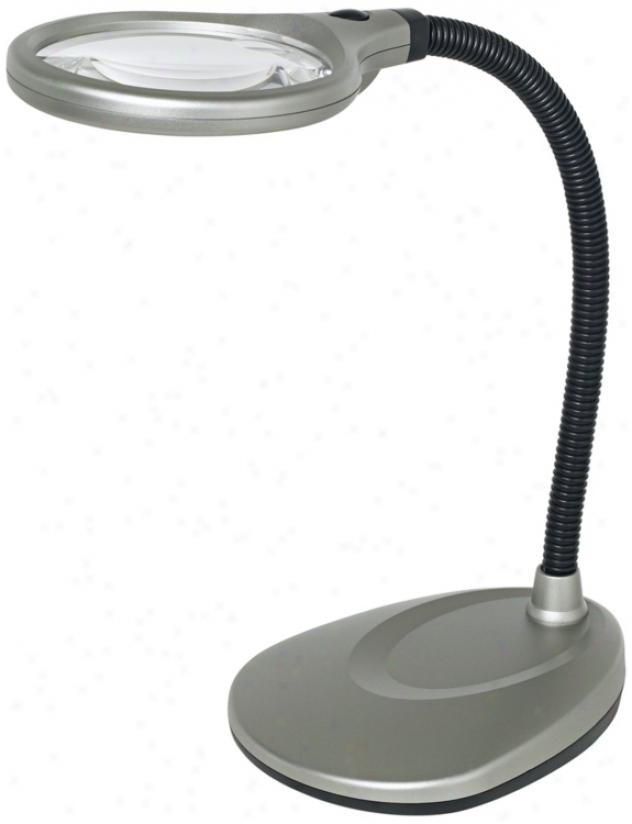 Multiflex Gooseneck Led Desk Magnifier (r0845)